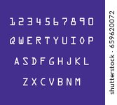 alphabets set vector... | Shutterstock .eps vector #659620072
