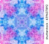 Abstract  Blue Magenta Purple...