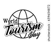 world tourism day | Shutterstock .eps vector #659654872