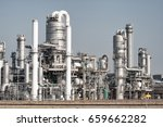 oil refinery | Shutterstock . vector #659662282