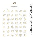 vector graphic set.isolated... | Shutterstock .eps vector #659702632