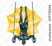 geometric crossfit concept....   Shutterstock .eps vector #659730346
