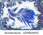 abstract background with fish....   Shutterstock .eps vector #659864692