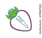 strawberry fresh fruit   Shutterstock .eps vector #659867065