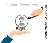 human resources management ... | Shutterstock .eps vector #659879308