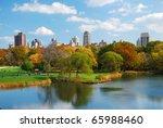 new york city central park in... | Shutterstock . vector #65988460