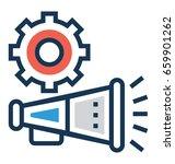commercial vector icon  | Shutterstock .eps vector #659901262