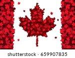 Happy Canada Day Hand Drawn...