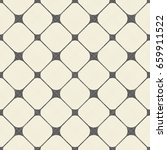 seamless grid pattern in retro... | Shutterstock .eps vector #659911522