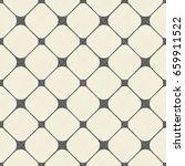seamless grid pattern in retro... | Shutterstock .eps vector #659911522