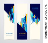 vector illustration of vertical ... | Shutterstock .eps vector #659927476
