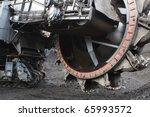 Giant Bucket Wheel Excavator...