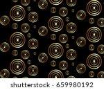 background gold black | Shutterstock . vector #659980192