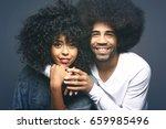 beautiful love couple    Shutterstock . vector #659985496