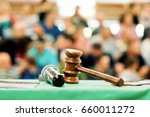 auction  bid sale judgment...   Shutterstock . vector #660011272