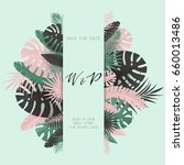 summer banner with paper... | Shutterstock .eps vector #660013486
