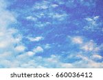 double exposure of cloud and... | Shutterstock . vector #660036412