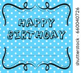 card template design for... | Shutterstock .eps vector #660040726