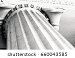 looking up at the top of a... | Shutterstock . vector #660043585