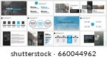 elements for infographics on a... | Shutterstock .eps vector #660044962