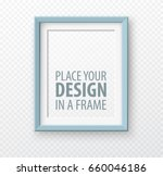 vertical frame mock up on... | Shutterstock .eps vector #660046186
