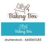 bakery logo illustration design | Shutterstock . vector #660065185