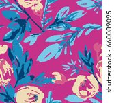 illustration of a pattern with... | Shutterstock .eps vector #660089095