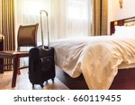 Stock photo view of hotel room 660119455