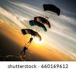 Small photo of parachute jump
