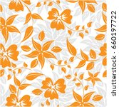 Vector Seamless Pattern Flower...