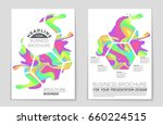 abstract vector layout... | Shutterstock .eps vector #660224515