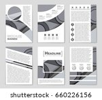 abstract vector layout... | Shutterstock .eps vector #660226156