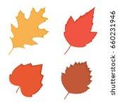fall leaves | Shutterstock .eps vector #660231946