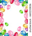 balloon sky event background | Shutterstock .eps vector #660233836