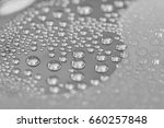 water droplets on shiny...   Shutterstock . vector #660257848