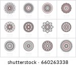collection of 12 round...