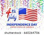 illustration of independence... | Shutterstock .eps vector #660264706