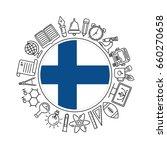 vector finland school... | Shutterstock .eps vector #660270658