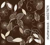 floral seamless pattern | Shutterstock .eps vector #66027874