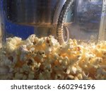 making popcorn in the small... | Shutterstock . vector #660294196