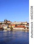 View On The Autumn Prague...