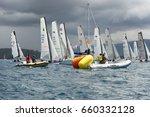 punta ala   3 june  sail boat... | Shutterstock . vector #660332128
