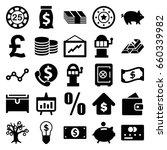 money icons set. set of 25...   Shutterstock .eps vector #660339982