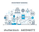 financial investments ... | Shutterstock .eps vector #660346072