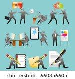 communication office | Shutterstock .eps vector #660356605