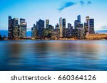 holiday in singapore  ... | Shutterstock . vector #660364126