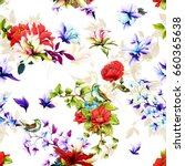 seamless background pattern.... | Shutterstock .eps vector #660365638
