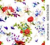 seamless background pattern.... | Shutterstock .eps vector #660365638