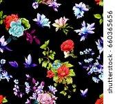 seamless background pattern....   Shutterstock .eps vector #660365656