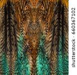 leopard skin | Shutterstock . vector #660367102